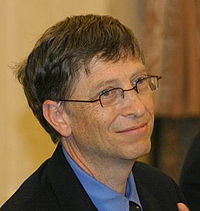 Bill Gates- otec Microsoftu