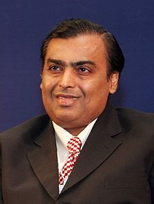 Mukesh Ambani- podnikateľ chemik
