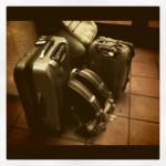 Letné balenie kufrov