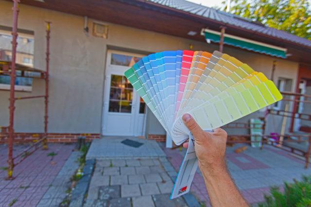 Vyberáme fasádne farby