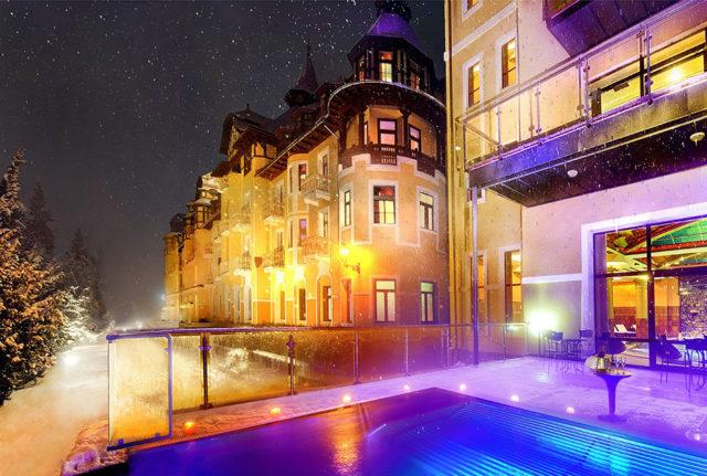 Luxus a krása hotela Grandhotel Praha
