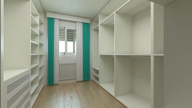 Maximálne využitie priestoru vďaka vstavaným skriniam